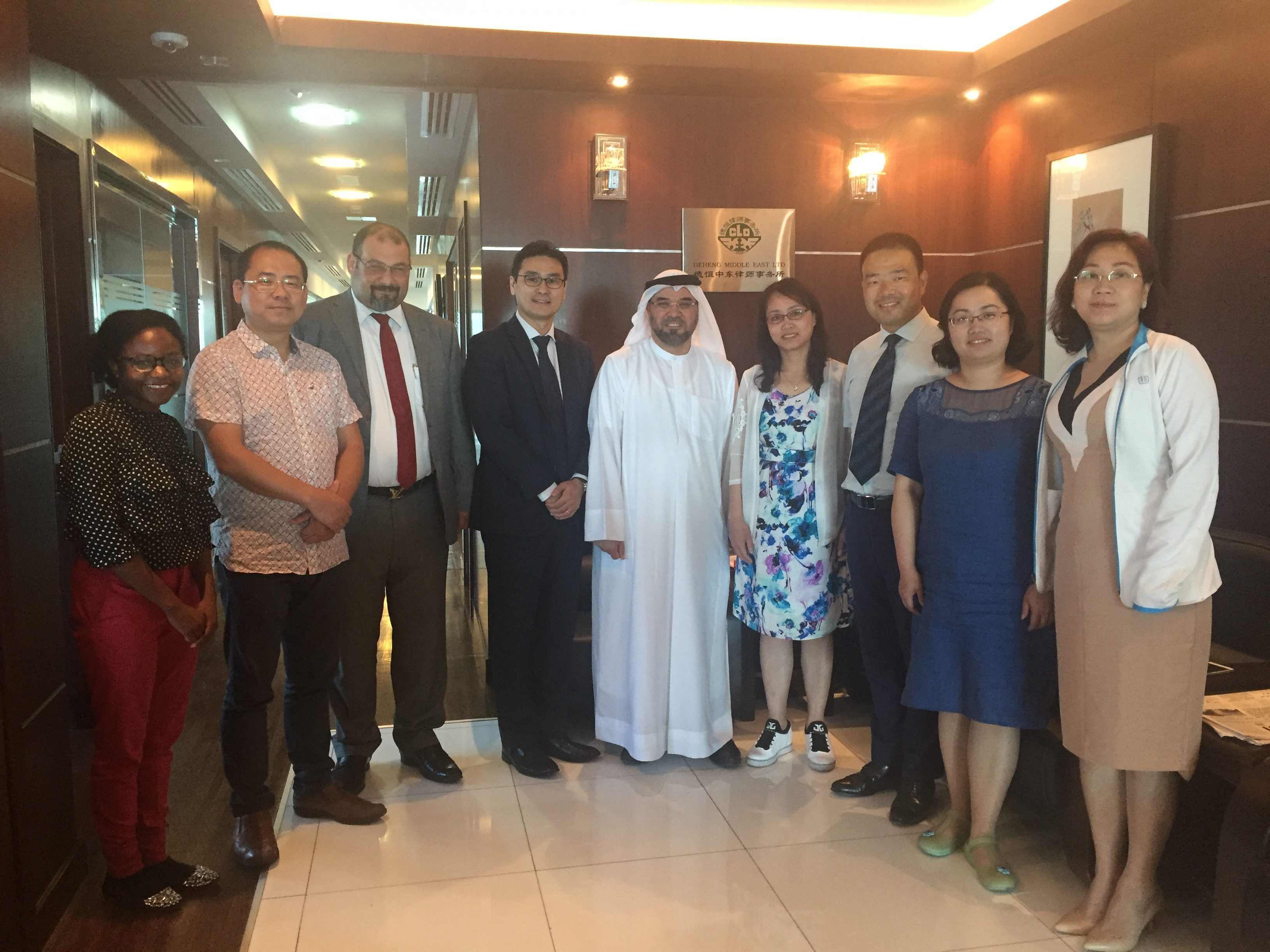 Chinese delegation 18.05.2017